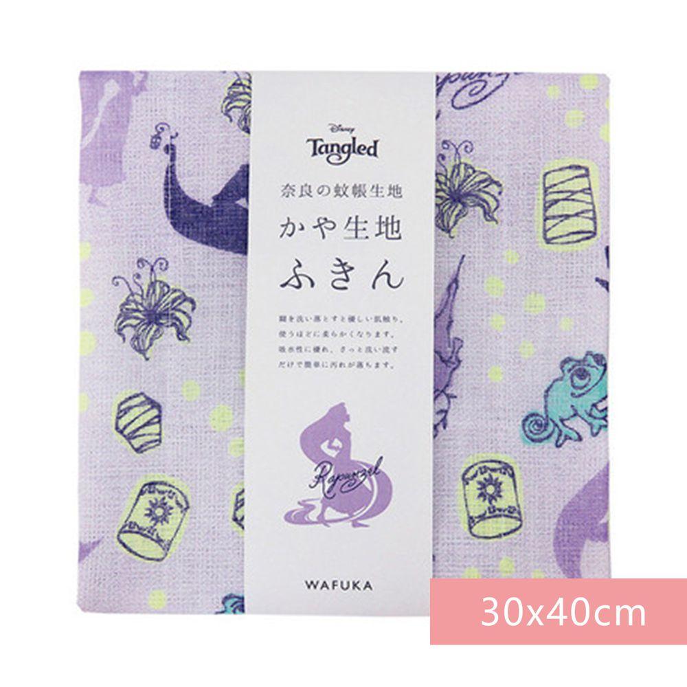 日本代購 - 【和布華】日本製奈良五重紗 方巾-長髮公主 (30x40cm)