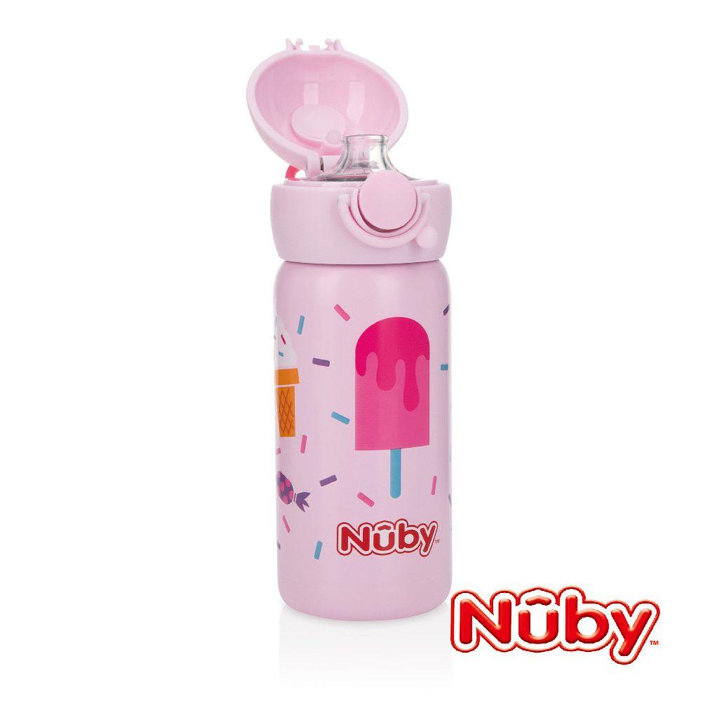 Nuby - 不銹鋼真空直飲杯-316不鏽鋼-冰淇淋 (300ml)