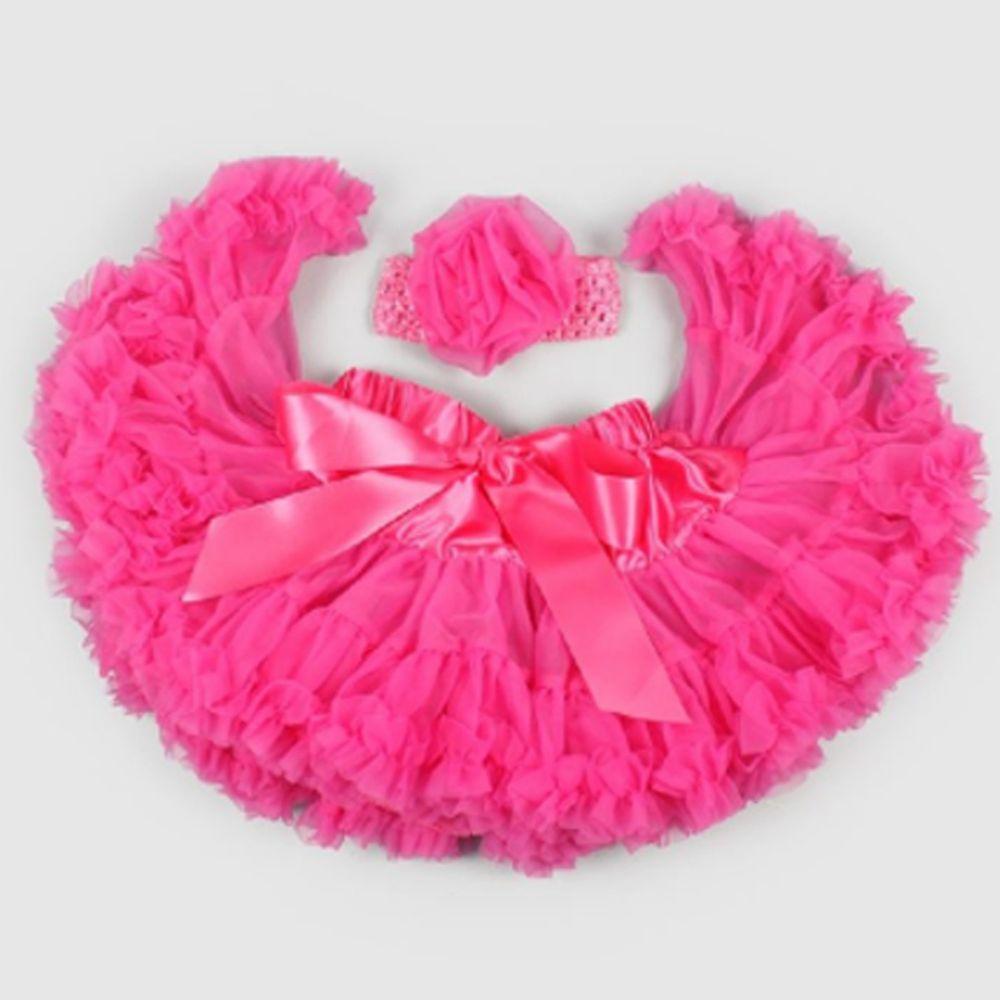 日安朵朵 - 女嬰童雪紡蓬蓬裙-芭比
