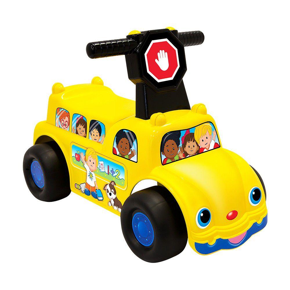 美國Fisher-Price 費雪 - 費雪牌 歡樂校車騎乘玩具