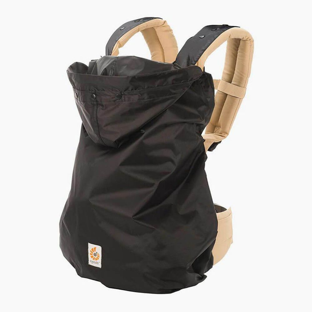 美國ERGObaby - 防雨防風罩-黑色