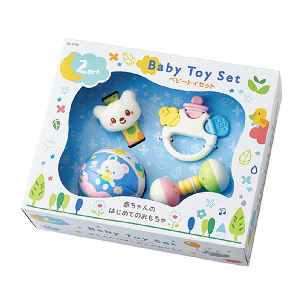 日本 Toyroyal 樂雅 - 初生玩具禮盒(2m以上)-2M以上