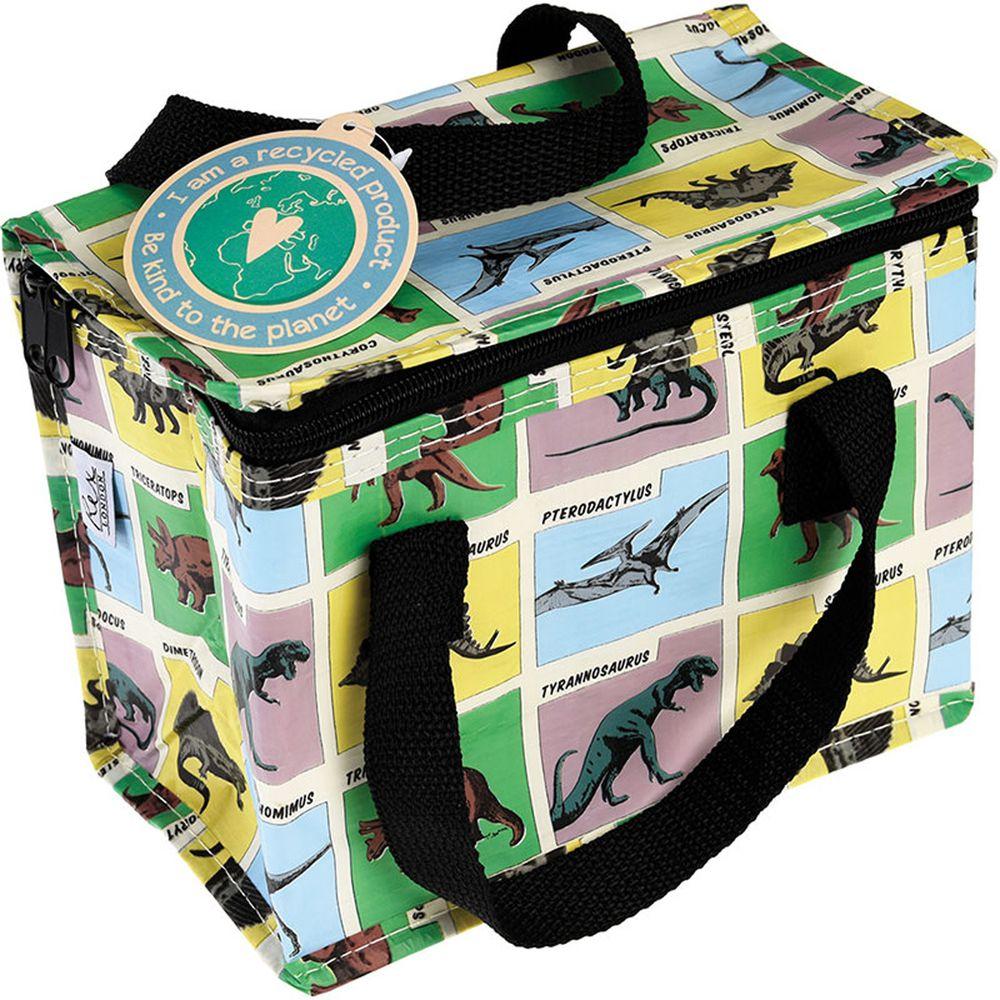 英國 Rex London - 環保保溫袋/保冷袋/便當袋/野餐袋-恐龍樂園