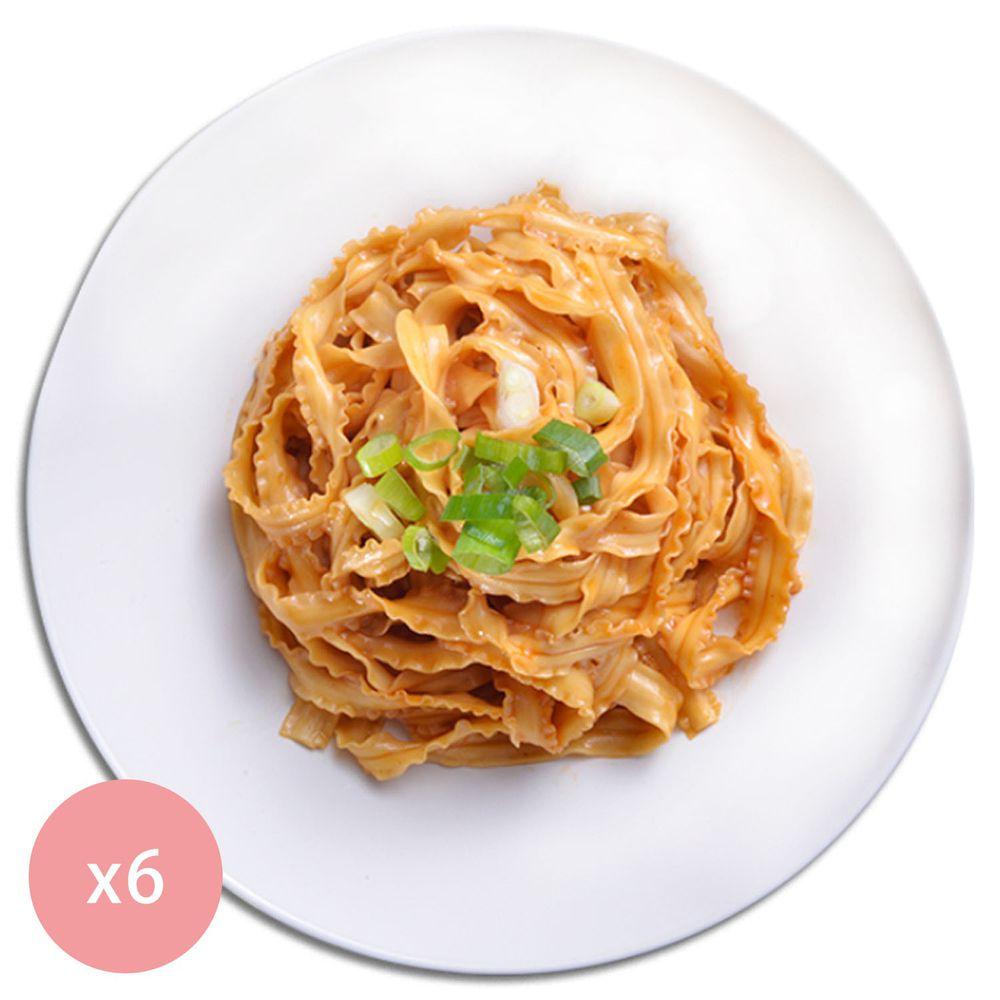 【國宴主廚温國智】 - 冷藏椒麻香蔥浪花拌麵368g x6包