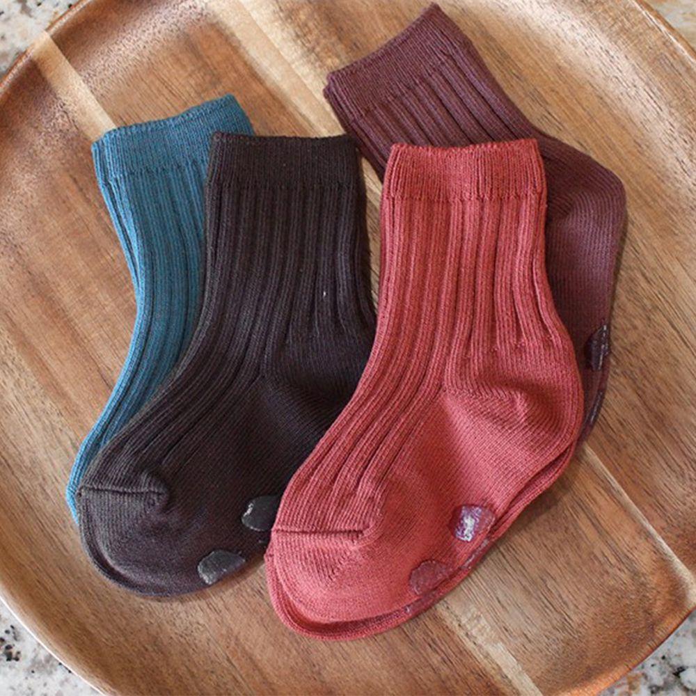 韓國 Kokacharm - 韓國製踝襪-四件組-Earth