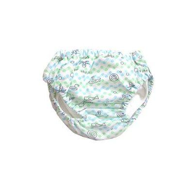 Think・B 日本製超透氣學習褲-泡泡潛水艇-藍色
