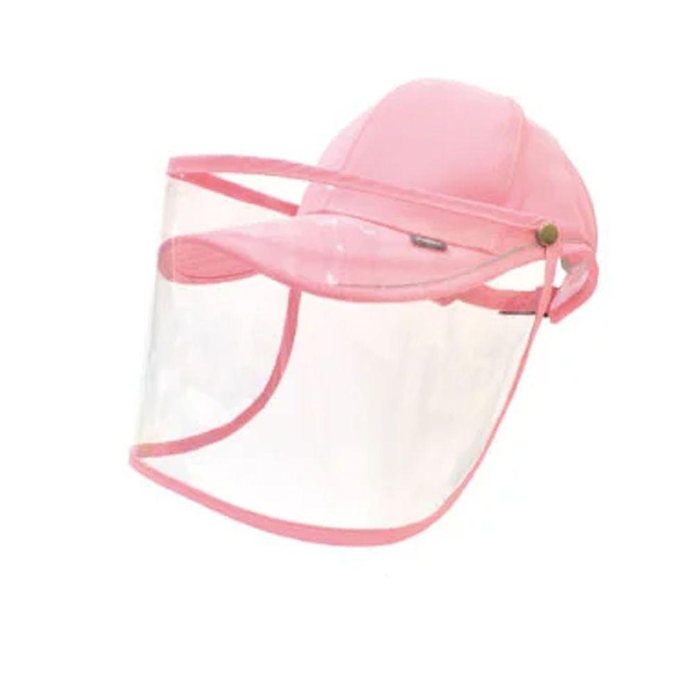 貝柔 Peilou - UPF50+多功能防疫遮陽鴨舌帽-粉紅 (頭圍: 59cm)