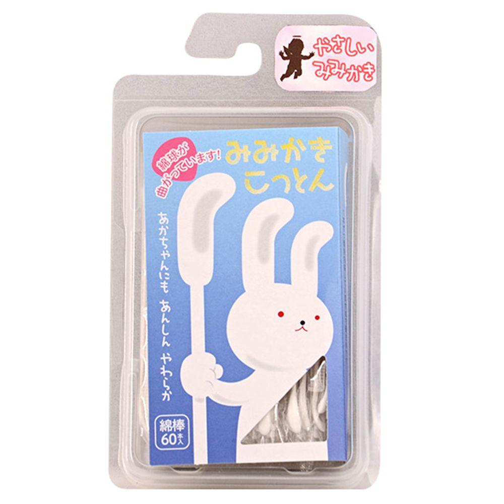 akachan honpo - 挖耳專用棉花棒-60支