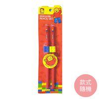 (獨家滿799元贈品) OXFORD 積木造型鉛筆組1組(款式隨機) X 1