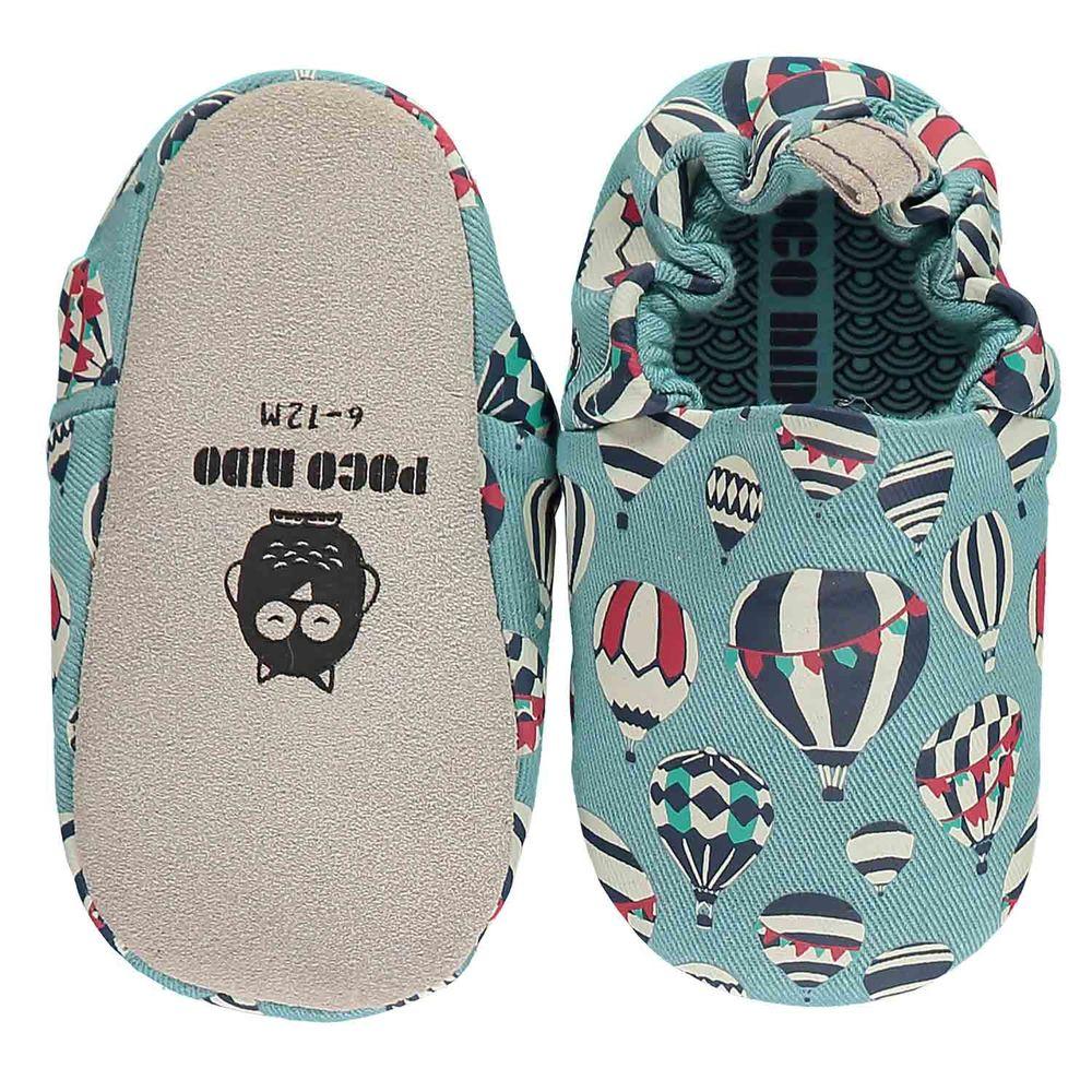 英國 Poconido - 寶寶手工鞋/學步鞋-熱氣球