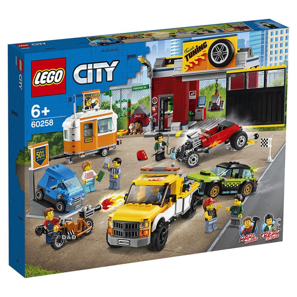 樂高 LEGO - 樂高 CITY 城市系列 - 賽車改裝廠 60258-897pcs
