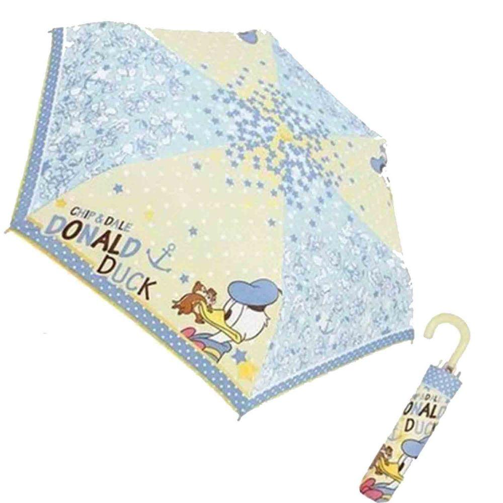 日本代購 - 卡通折疊雨傘-唐老鴨 (53cm(125cm以上))