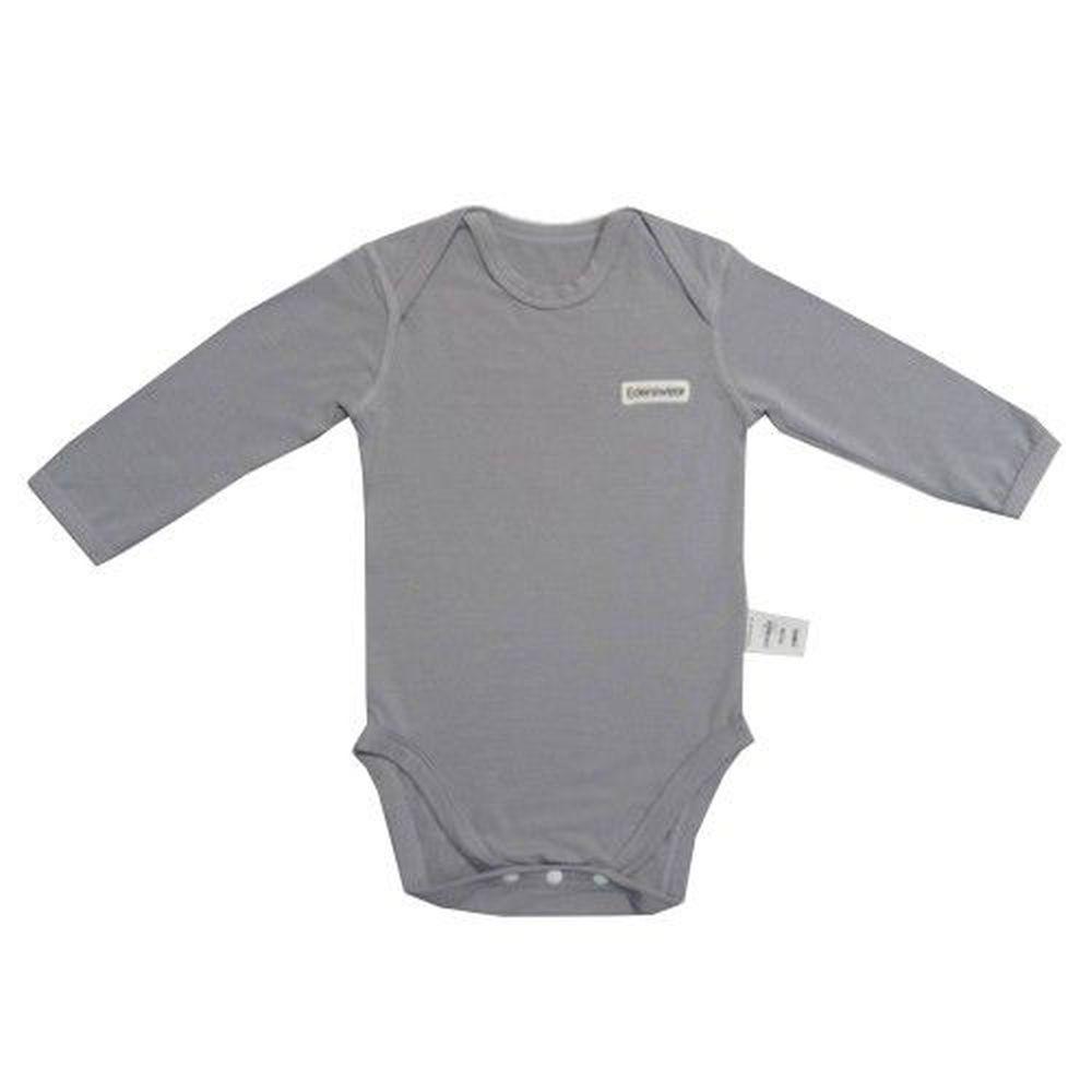 Edenswear 伊登詩 - 鋅健康抗敏系列-長袖包屁衣-灰色