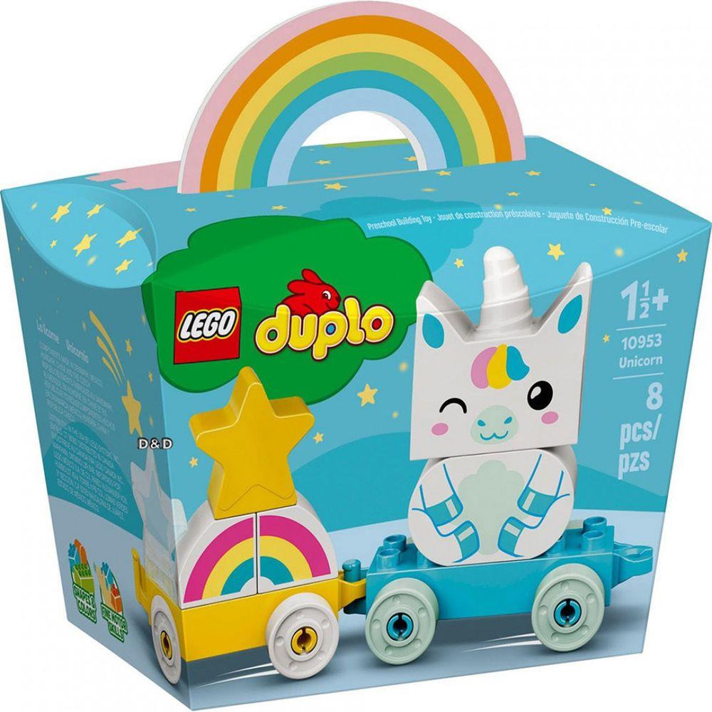樂高 LEGO - 樂高積木 LEGO《 LT10953 》Duplo 得寶系列 -獨角獸-8pcs