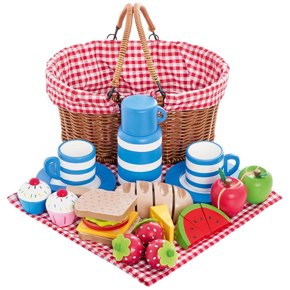 英國 JoJo Maman BeBe - 家家酒/角色扮演玩具-戶外野餐組