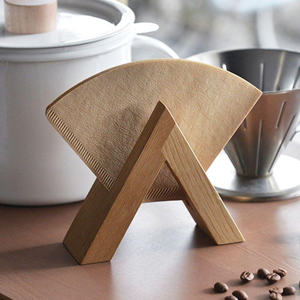 日本 FORMLADY - 小泉誠 ambai 日製原木咖啡濾紙收納架