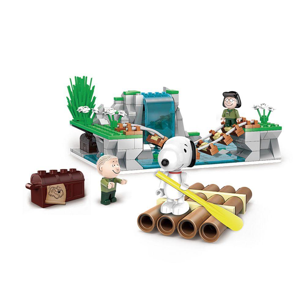 Linoos - 史努比叢林系列-叢林冒險隊-316片