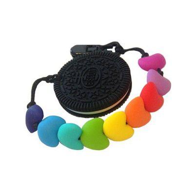 彩虹餅乾固齒器