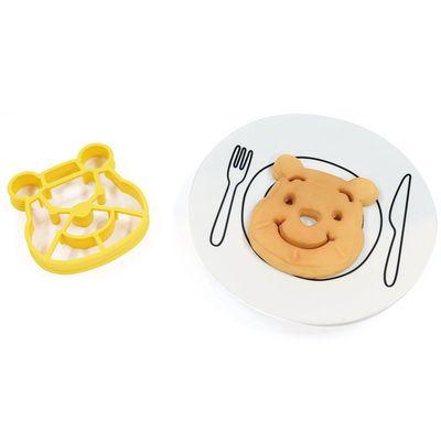 迪士尼矽膠鬆餅模-維尼 (12.5×15×2cm)
