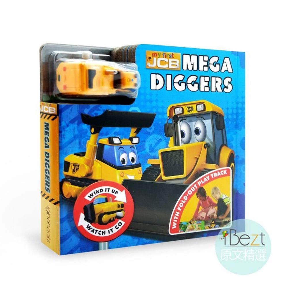 Busy Day Board 軌道車車書-Mega Diggers