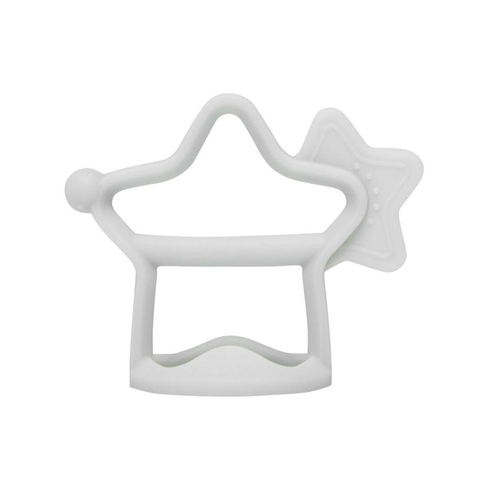 韓國 Moyuum - 白金矽膠手環固齒器-小星星-質感灰