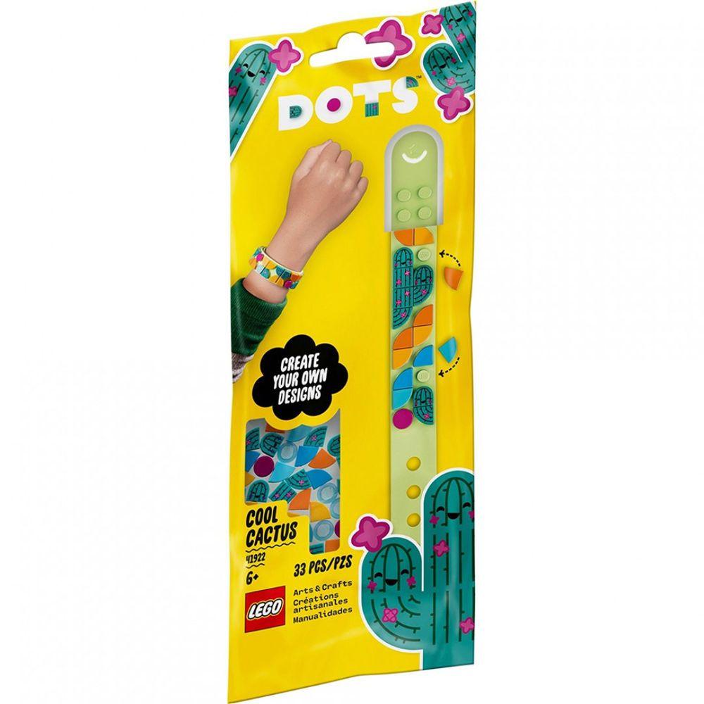 樂高 LEGO - 樂高積木 LEGO《 LT41922 》DOTS 系列 豆豆手環 - 豆豆手環-酷炫仙人掌-33pcs