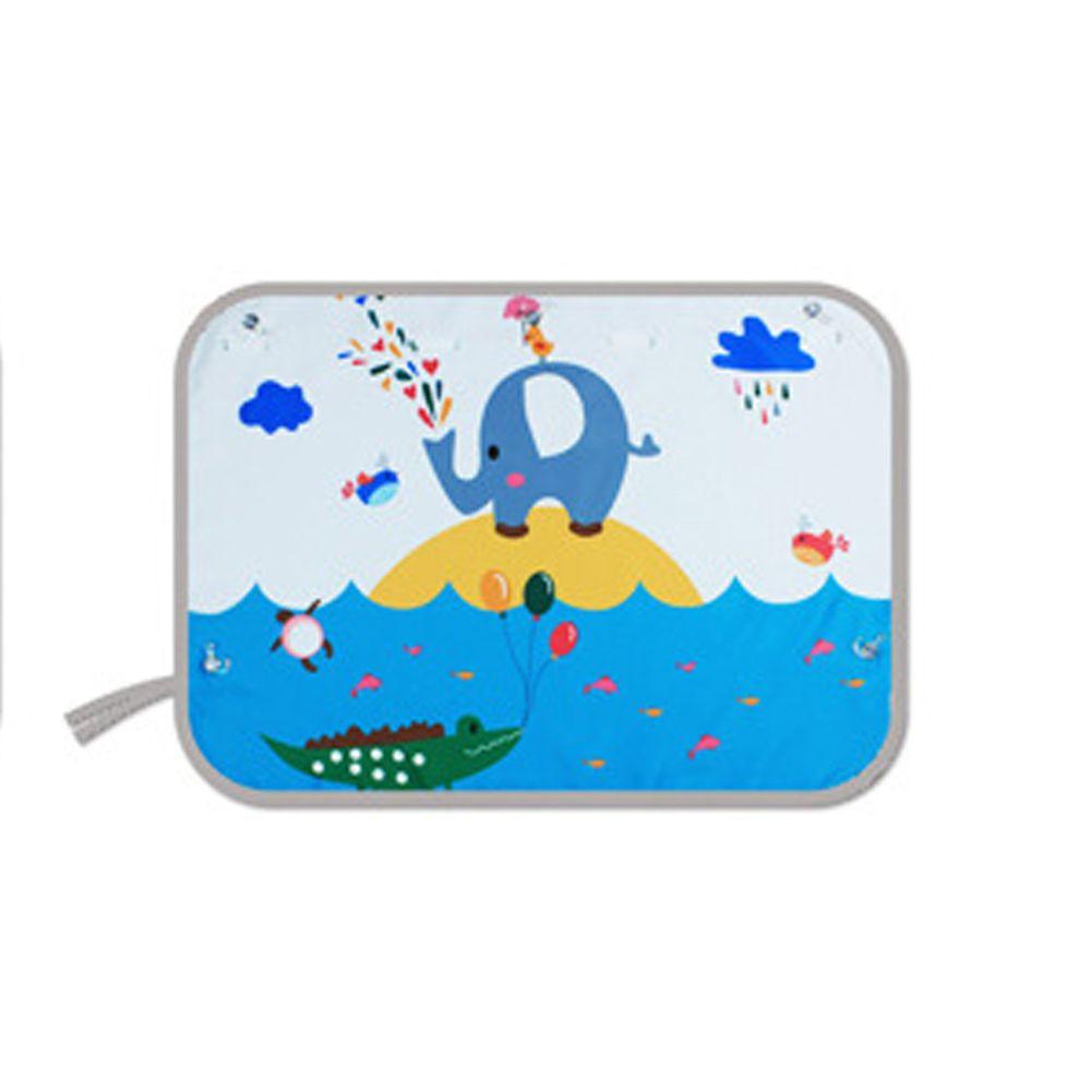 吸盤式汽車遮陽窗簾-水上樂園