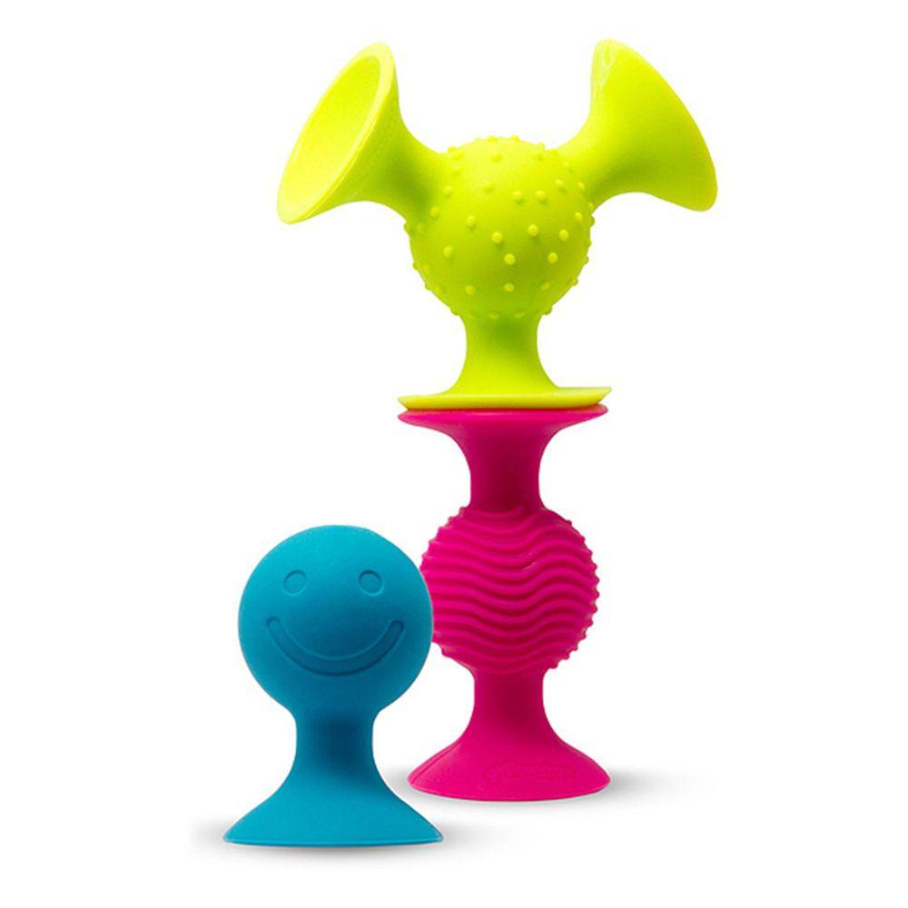 美國 FatBrain - 【熱賣】觸覺吸盤球-3件