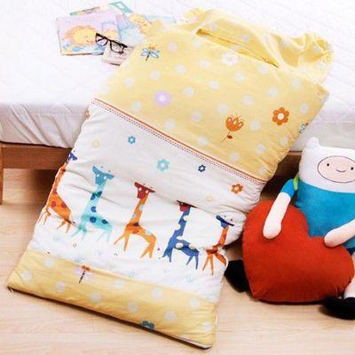MIT純棉冬夏兩用兒童睡袋-歡樂世界