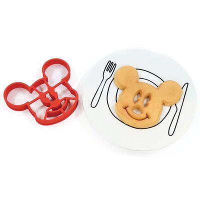 迪士尼矽膠鬆餅模-米奇 (12.5×15×2cm)