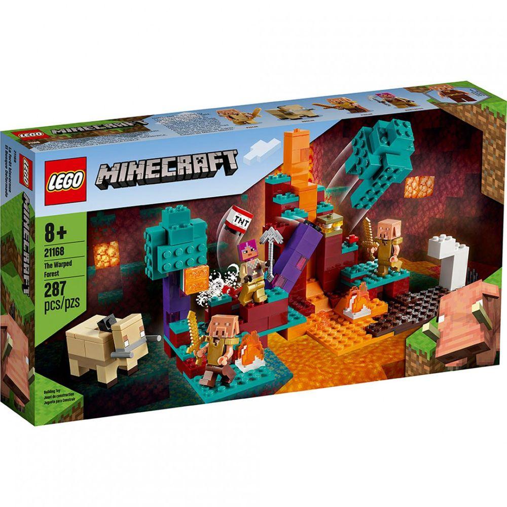 樂高 LEGO - 樂高積木 LEGO《 LT21168 》Minecraft 系列 - The Warped Forest-287pcs