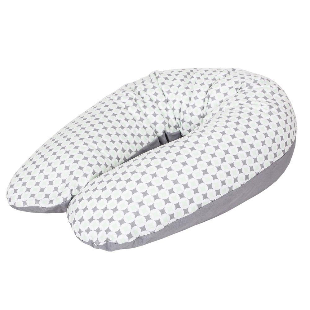 波蘭 Ceba Baby - U型多功能孕婦枕-圓鑽幾何