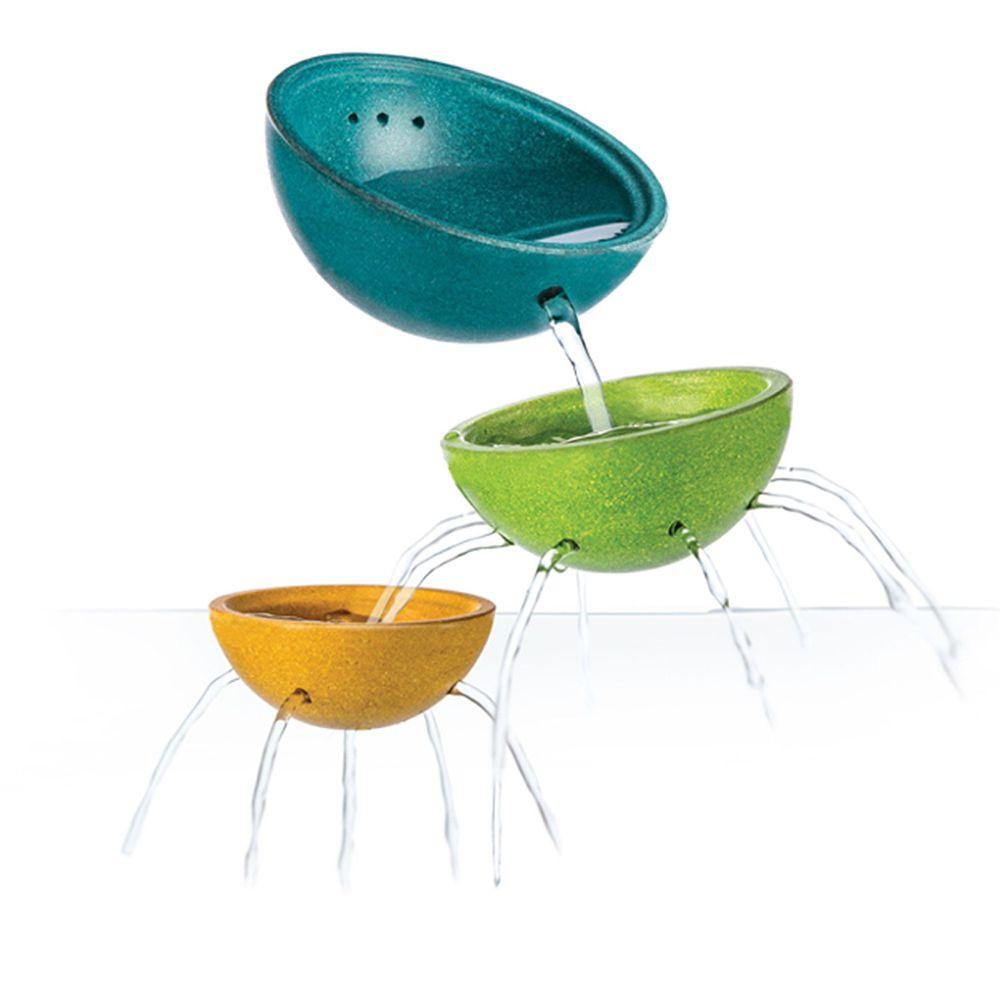 泰國 Plantoys - 木作水玩具-三色篩碗組