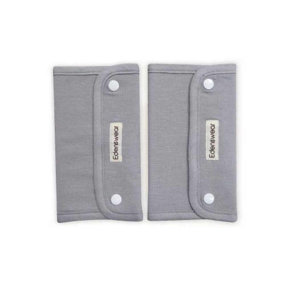 Edenswear 伊登詩 - 鋅纖維抗敏衣系列-小寶寶背帶口水巾-灰 (FREE)