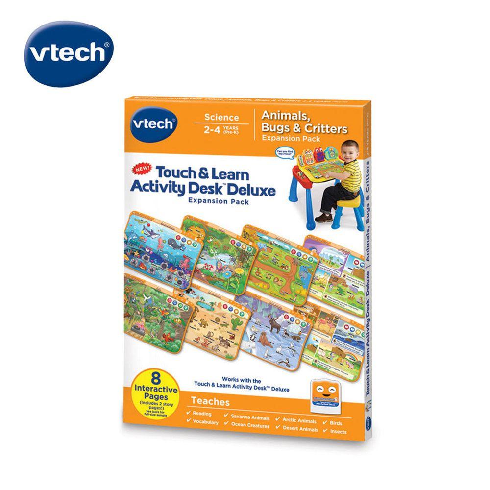 Vtech - 互動學習點讀桌圖鑑套卡組-生物奇觀探索(2-4Y)