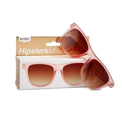 抗UV奢華嬰童偏光太陽眼鏡(附固定繩/收納袋)-玫瑰