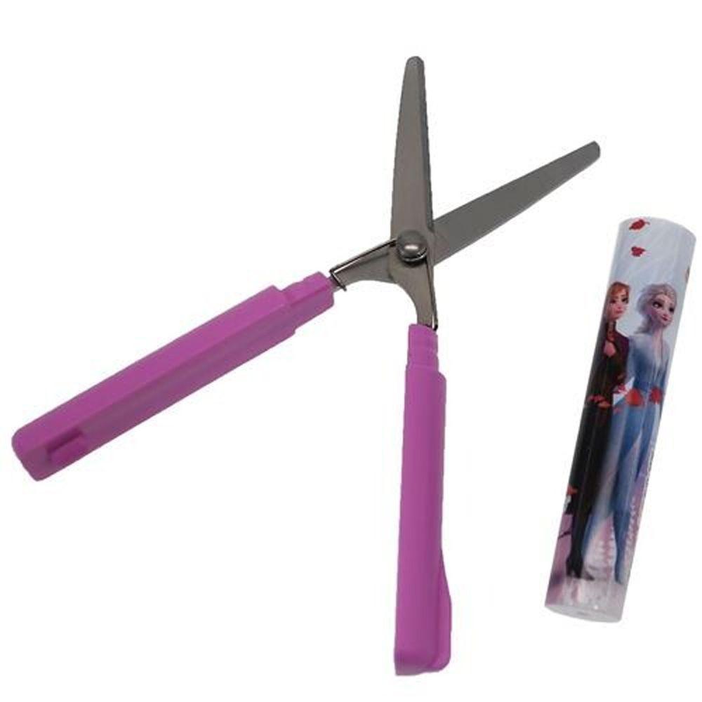 日本代購 - 筆型攜帶式剪刀-冰雪奇緣2-紫