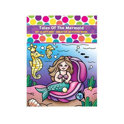 美國 Do A Dot Art - 點點畫冊-美人魚-24頁