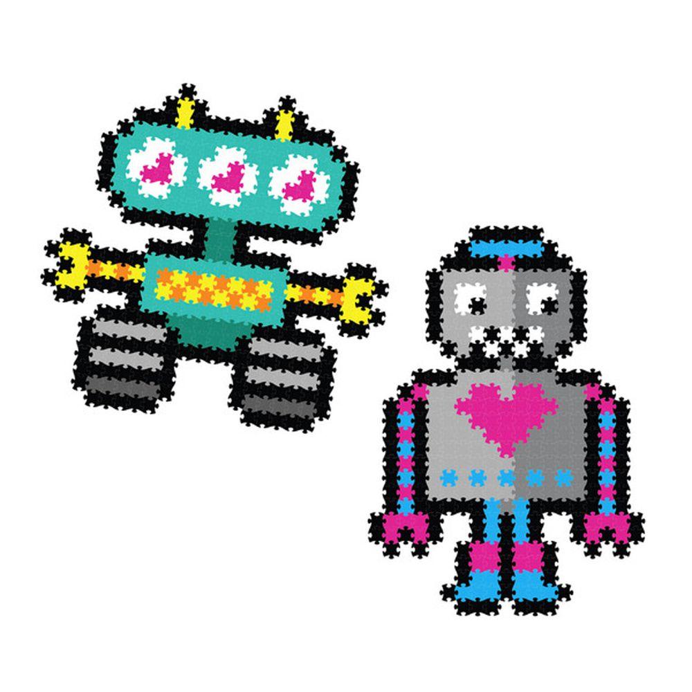 美國 FatBrain - 數碼拼圖-機器人-700件