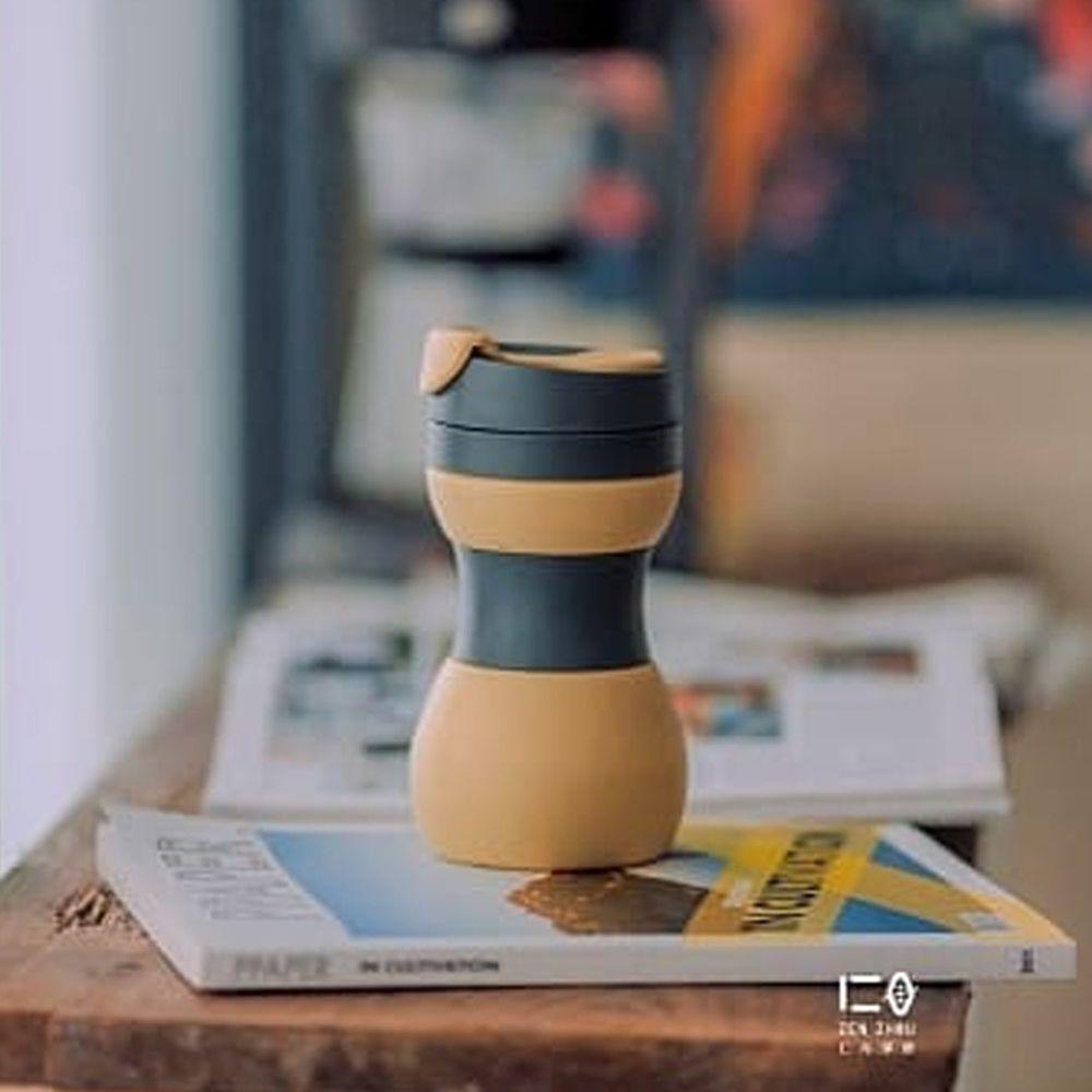 仁舟淨塑 - 矽密咖啡杯-拿鐵
