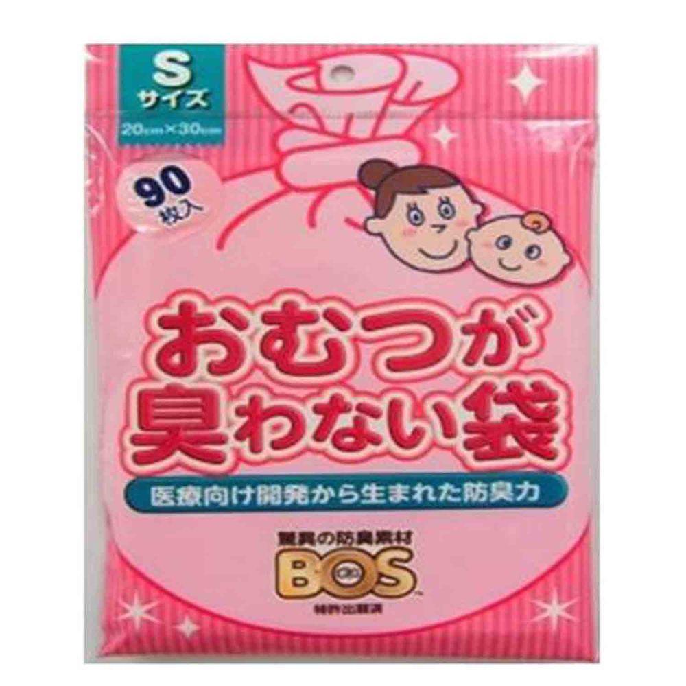 akachan honpo - 尿布防臭袋BOS (嬰兒用S尺寸)-90張