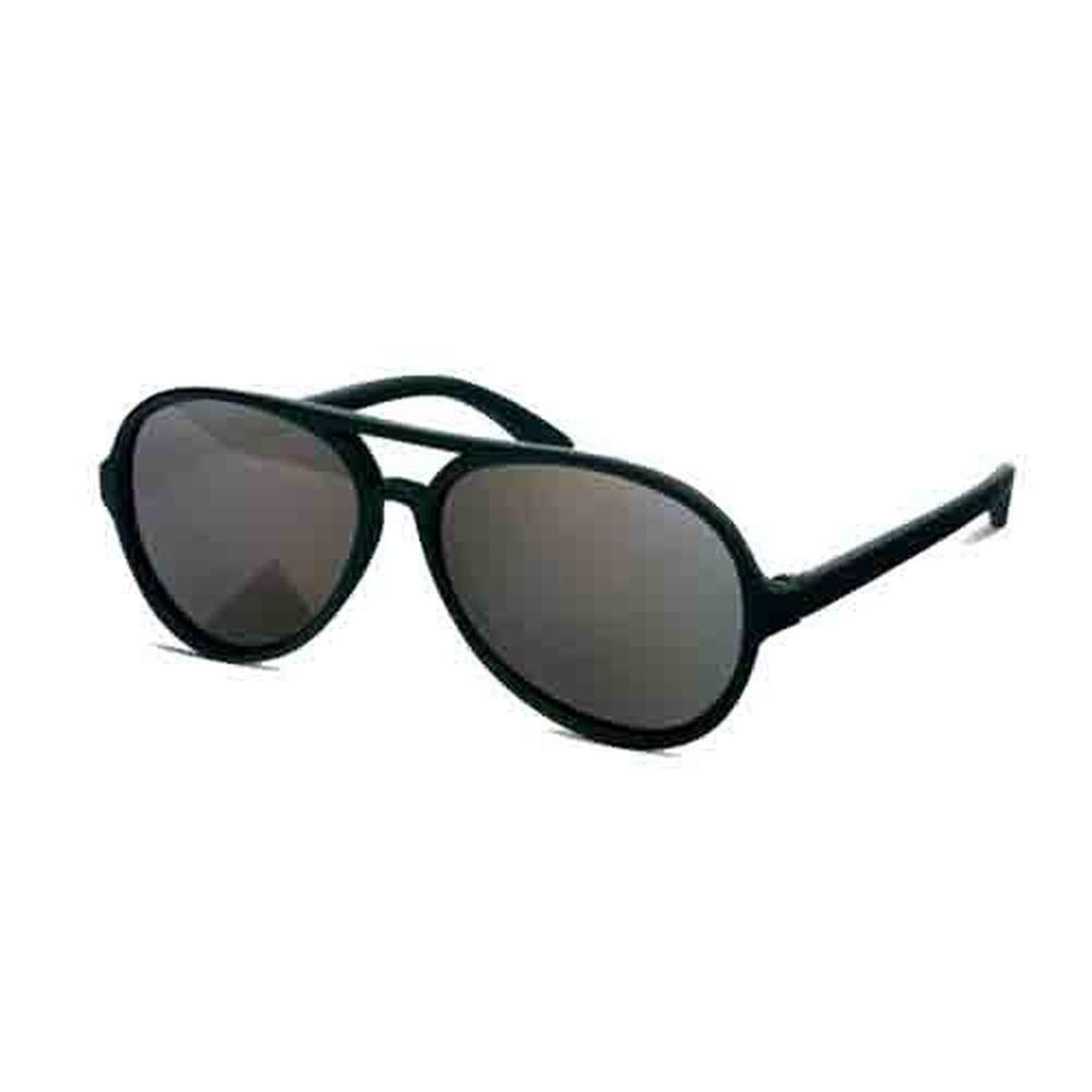 美國 Hipsterkid - 抗UV偏光時尚嬰幼兒童太陽眼鏡(附固定繩)-飛行員黑