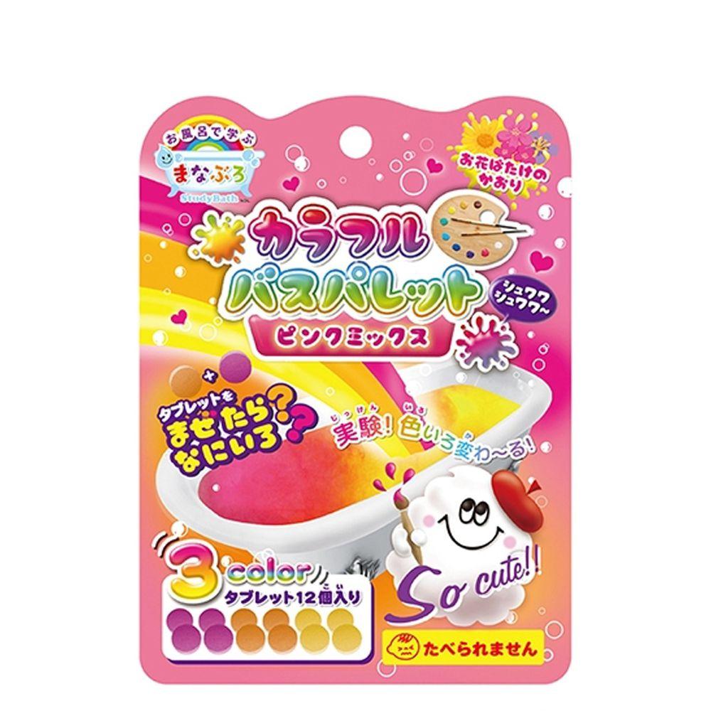 日本NOL - 趣味調色盤入浴錠(粉紅)