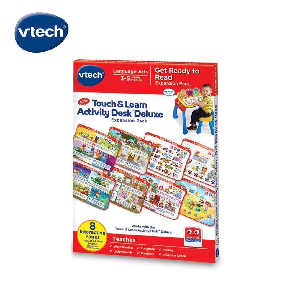 Vtech - 互動學習點讀桌圖鑑套卡組-閱讀世界啟發(3-5Y)