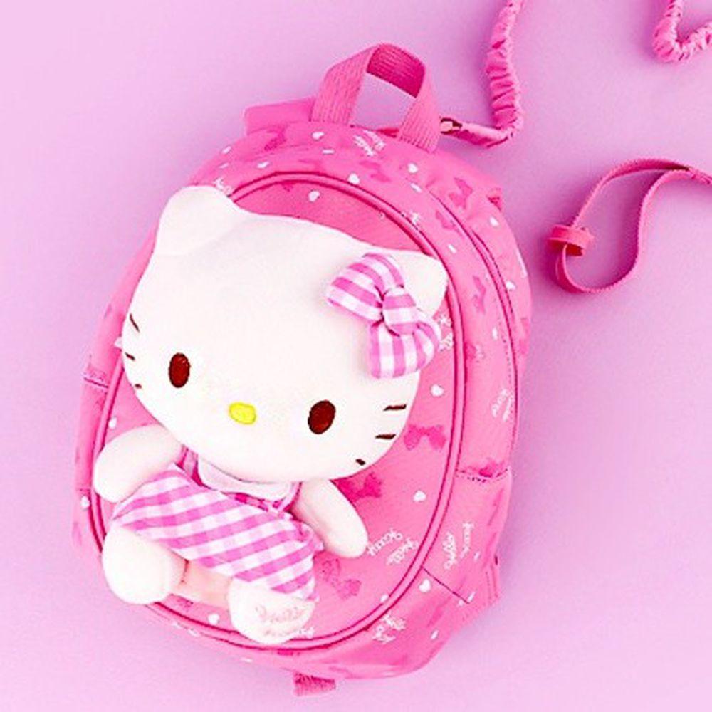 韓國 Winghouse - 超萌娃娃拉鍊防走失包-Hello Kitty