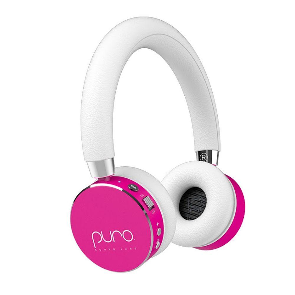 PURO SOUND LAB - BT2200s 無線兒童耳機-附麥克風-粉紅色 (17.5 x 21 x 6 cm)