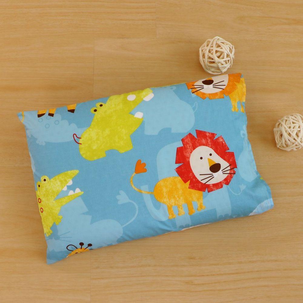 鴻宇HONGYEW - 美國棉兒童防螨抗菌枕套-快樂獅子-1836-55x44cm