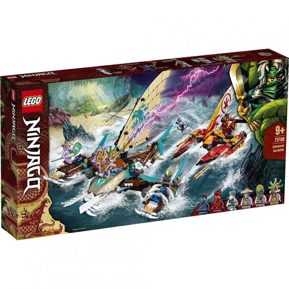 樂高 LEGO - 樂高積木 LEGO《 LT71748 》 NINJAGO 旋風忍者系列 - 雙體船海上大戰-780pcs