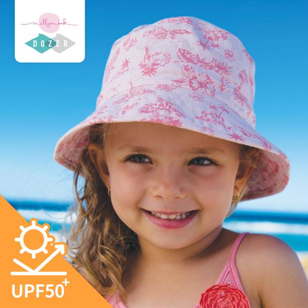 UPF50+防曬 ☀ 澳洲 Millymook & Dozer 雙面遮陽帽