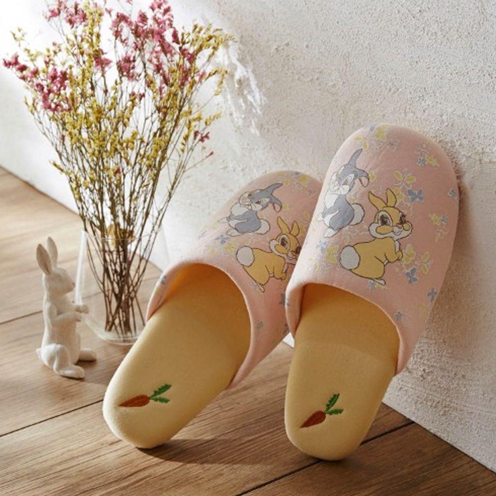 日本千趣會 - 迪士尼室內拖鞋-邦尼兔-粉